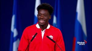 Canadian soccer star Alphonso Davies tells FIFA World Congress of his dream ahead of 2026 World Cup vote