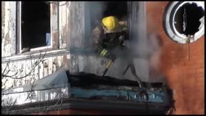 Peterborough house fire on Wolsley Street