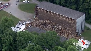 9,000 barrels of aging bourbon come crashing down at Barton 1792 distillery in Kentucky