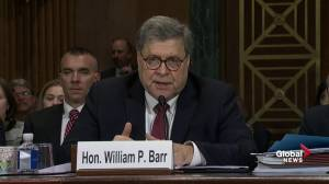 Barr: Trump firing James Comey isn't an obstruction of justice