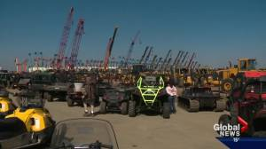 Alberta's capital hosts massive auction event