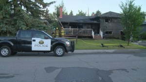 Calgary police arson unit investigating Glamorgan house fire