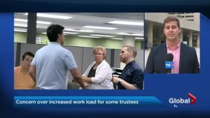 Concern over increased workload for some Toronto school board trustees