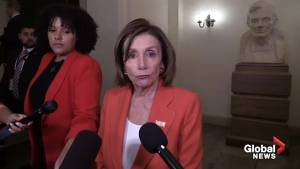 Nancy Pelosi pleased Trump didn't follow through with Iran strike