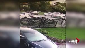Second angle of Surrey car mayhem