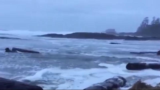 Weather Condintions Off West Coast Of Vancouver Island