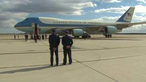 Donald Trump takes 1st flight on Air Force One as President