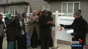 9 families receive keys to Edmonton Habitat for Humanity homes