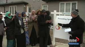 9 families receive keys to Edmonton Habitat for Humanity homes