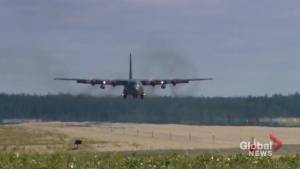 Second military aircraft lands in Gillam as search for B.C. murder suspects continues