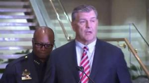 Dallas Mayor Mike Rawlings says it's heartbreaking losing 4 police officers