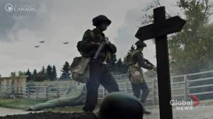 Calgary's McKenzie Lake transformed into Normandy for D-Day Heritage Minute