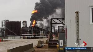 Crews battle fire at Shell Scotford Upgrader near Fort Saskatchewan