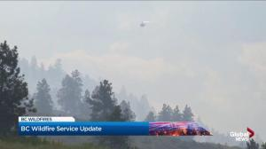 B.C. wildfire fight remains unpredictable
