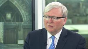 Excitement from international community with a more activist Canada: Rudd