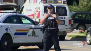 2 Fredericton police officers among 4 people killed in shooting, suspect in custody
