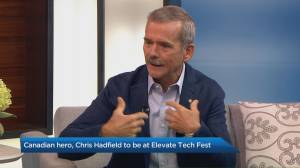 Chris Hadfield to speak at Elevate tech festival