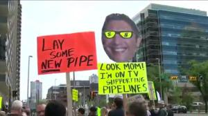Rallies held across Canada to protest Trans Mountain pipeline