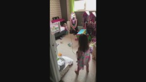 RAW VIDEO: Sick Saskatchewan toddler enjoys song and dance