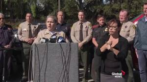 California wildfires: Police urge civilians not to use drones in fire areas