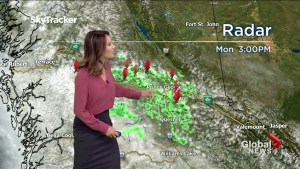 B.C. evening weather forecast: May 20,