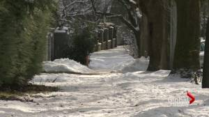 Shaughnessy's icy sidewalks are a serious matter