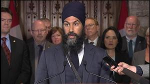 Jagmeet Singh says Trudeau has 'no vision for future,' slams Trans Mountain deal