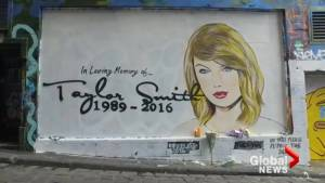Bizarre Taylor Swift memorial honours 'death' of singer's career over Kanye dispute