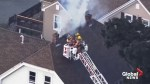 Several people injured after gas leak leads to fires and explosions in neighborhoods north of Boston