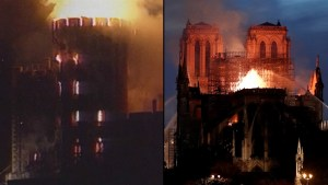 Notre Dame Cathedral joins other icons destroyed by fire