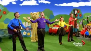 The Wiggles perform the ABC Song