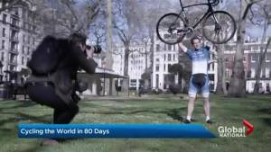 British man plans to cycle around the world in 80 days