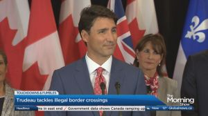 As more seek asylum in Canada, Prime Minister Trudeau weighs in