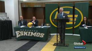 Edmonton Eskimos getting closer to naming new team president