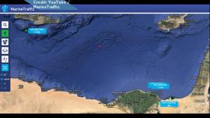 Aerial graphic shows size, scale of maritime search for missing EgyptAir flight