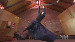 Halifax circus troupe preparing 'fun show' for Fringe Festival (01:55)