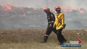 Family out camping forced to flee from Strathcona County wildfire