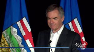 A look back at one of Jim Prentice's final moments as a politician
