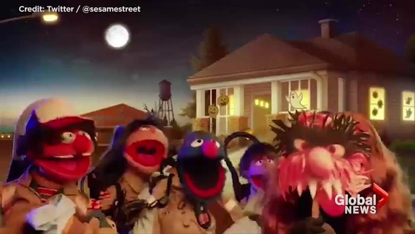 'Sesame Street' Made a 'Stranger Things' Parody Video and It's Great