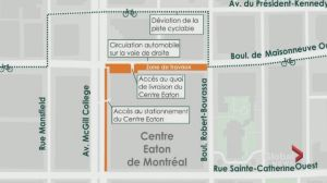 Construction for new REM McGill Station begins