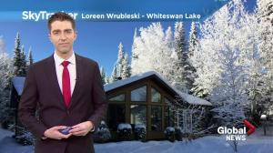 Saskatoon weather outlook: Frigid Friday morning, weekend warm-up