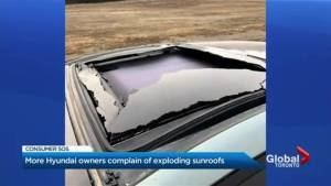 More Hyundai shattered glass complaints