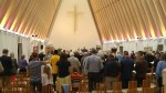 New Zealand shooting: Christians attend Sunday service in memory of Christchurch mosque attack victims