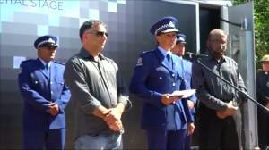 New Zealand shooting: Muslim policewoman gives emotional speech during vigil