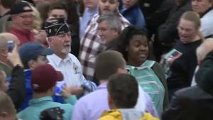 Trump supporters push out protesters at rally on Super Tuesday