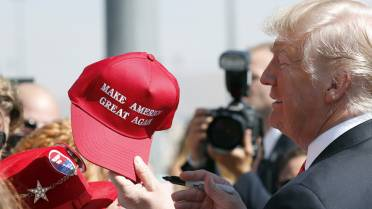 31  A California restaurant is drawing controversy after its chef-partner  tweeted that people wearing Make America Great Again hats would not be  served ... 2315585ba2ca