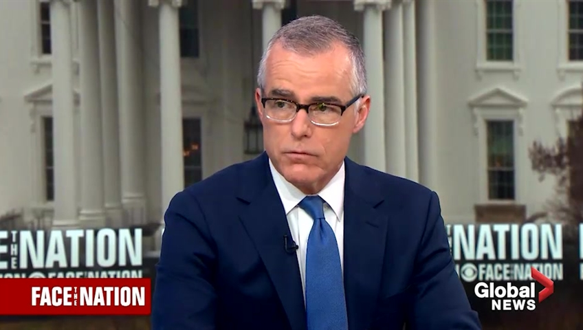 Investigation into ex-FBI official Andrew McCabe ends with no charges