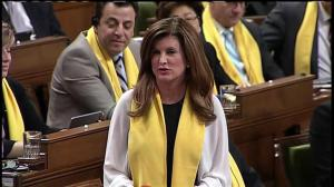 'I even got invited to go to Washington': Rona Ambrose takes shot at Liberal MP over Trudeau US visit