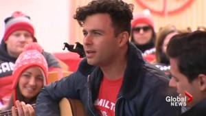 'It's all been very surreal': The Arkells rock Canada Olympic House