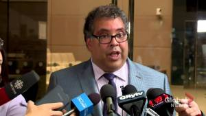 Nenshi talks to media following arena approval